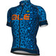 Alé Cycling Graphics PRR Agguato Short Sleeve Jersey Men blue-fluo orange